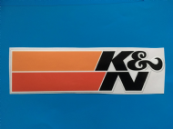 K &N sticker/decal x2